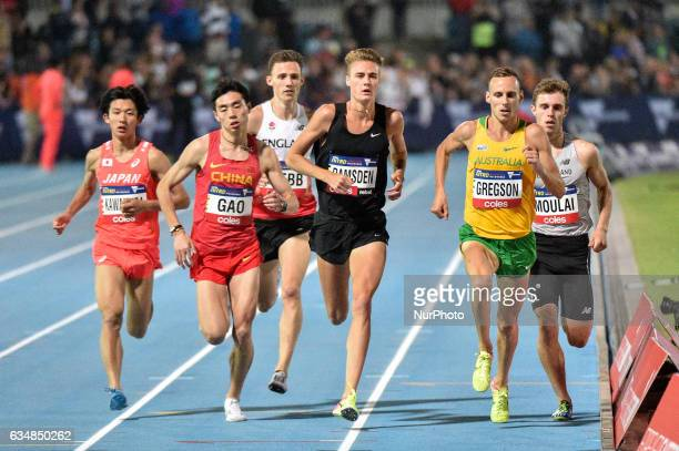 Renya Made of Japan Tongyou Gao of China Jamie Webb of England at the back Matthew Ramsden of the Bolt All Starts Ryan Gregson of Australia and Tom...
