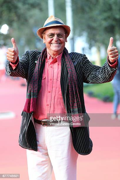 Renzo Arbore walks the red carpet during the 11th Rome Film Festival at Auditorium Parco Della Musica on October 22 2016 in Rome Italy