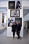 Renzo Rosso and Caroline Corbetta attend Renzo Rosso And OTB Launch 'Radical Renaissance 555' Book on June 17 2016 in Milan Italy