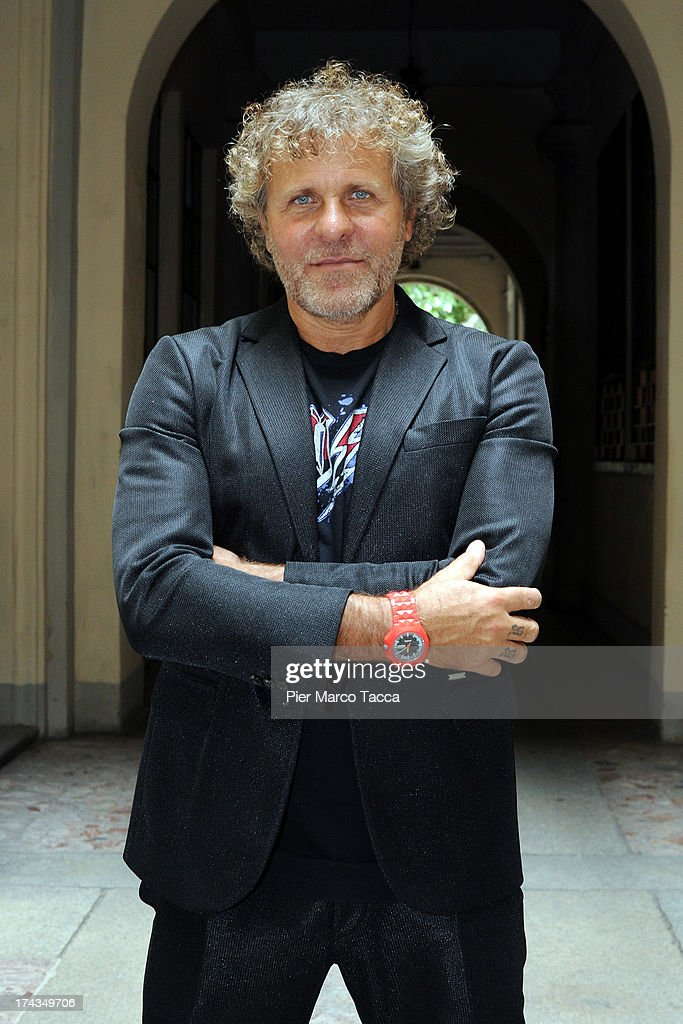 Renzo Rosso attends a press conference on the easy credit system at Camera della Moda on July 24 2013 in Milan ItalyStaff International of Group OTB...