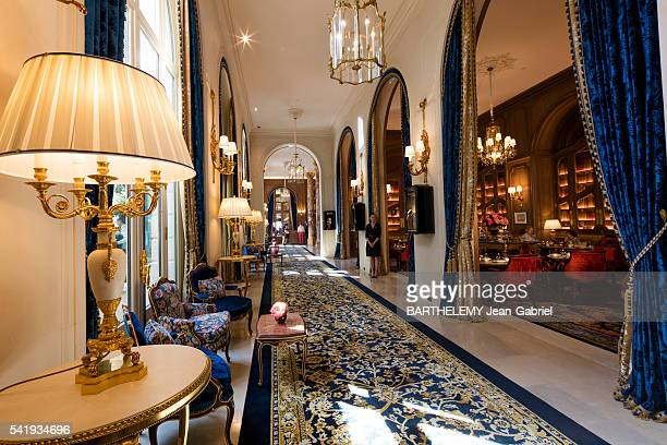 Reopening of the hotel Ritz after 4 years of renovation works the lobby and the lounge Marcel Proust on june 09 2016 in Paris France