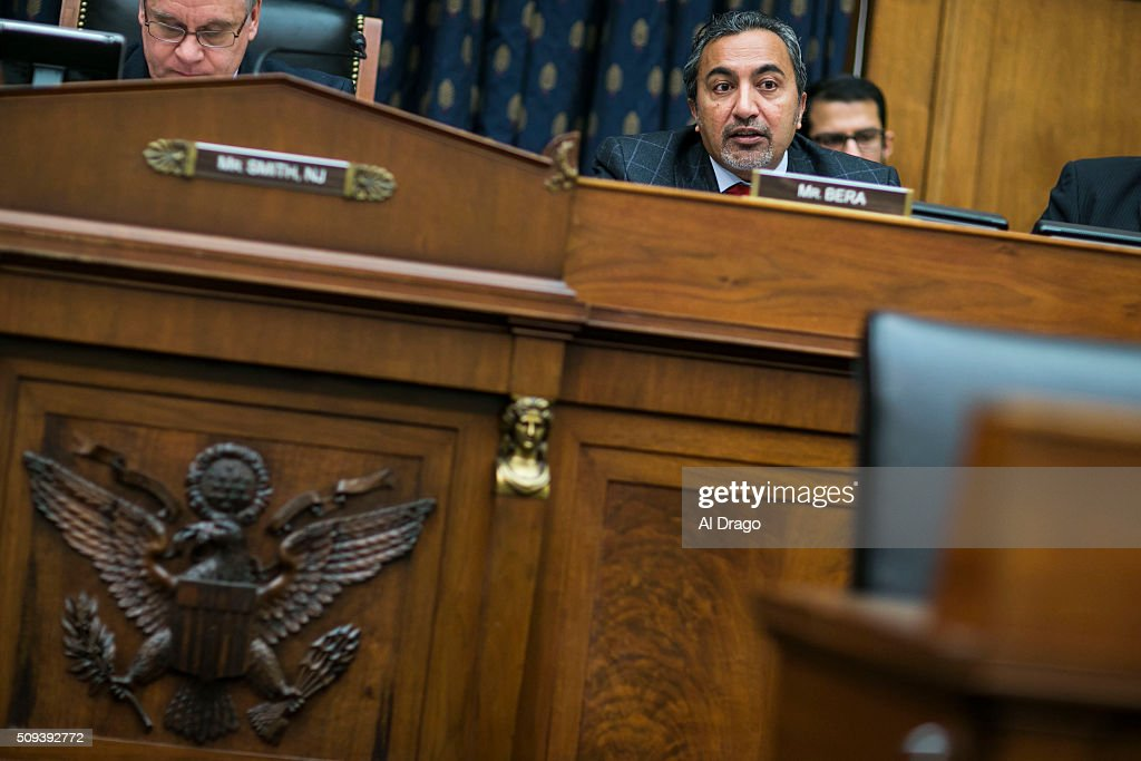 STATES - FEB. 10 - Rep. Ami Bera, D-Calif., speaks on Capitol Hill in Washington, Wednesday, Feb. 10, 2016, during the House Foreign Affairs, Africa, Global Health, Global Human Rights, and International Organizations Subcommittee and Western Hemisphere subcommittee joint hearing on: 'The Global Zika Epidemic.'