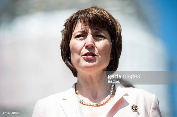 Rep Cathy McMorris Rodgers RWash participates in the news conference on Food and Drug Administration menu labeling regulations on Tuesday April 28...