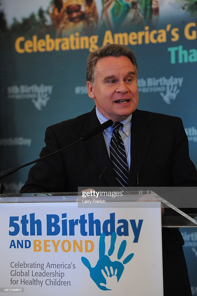 Rep. Chris Smith ((R-NJ) speaks at the 5th Birthday And Beyond event at the Russell Senate Office Building on June 25, 2014 in Washington, DC.