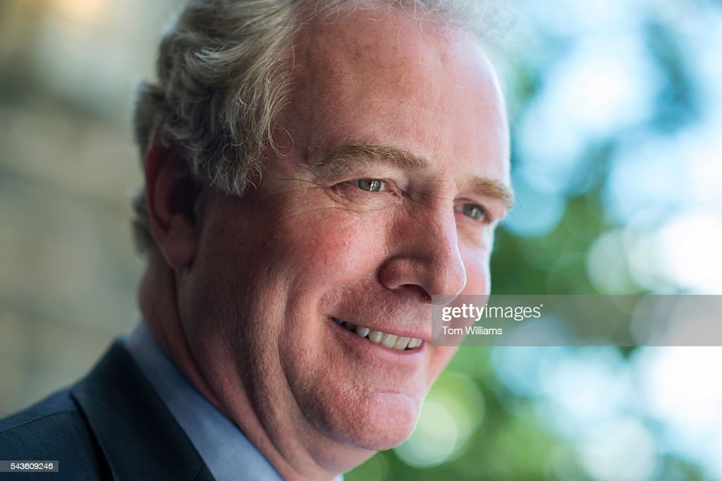 REp. Chris Van Hollen, D-Md., attends a rally with lawmakers and gun violence victims to call for action on gun safety measures on the steps of the Cathedral of the Incarnation in Baltimore, Md., June 29, 2016.