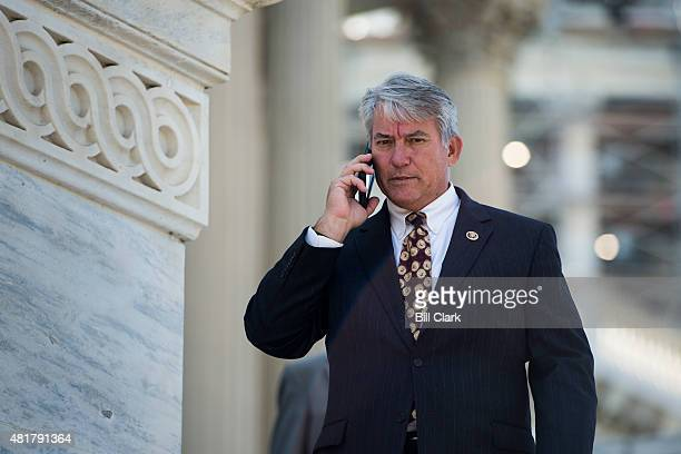 Rep Dennis Ross RFla walks down the House steps after the finals votes of the week on Thursday July 23 2015