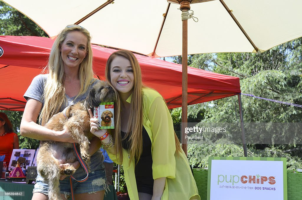A rep for Pup Chips and Lily Elise attend 3rd Annual Rockn Rolla Movie Awards Eco Party on April 11, 2013 in Los Angeles, California.