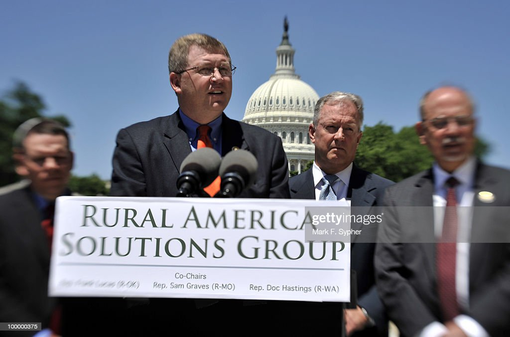 Rep. Frank Lucas (R-OK), Co-Chair of the Rural America Solutions Group, spoke out at a press conference on Tuesday May 19, 2009 against the Democrats' national energy tax which is under consideration this week by the Energy and Commerce Committee.