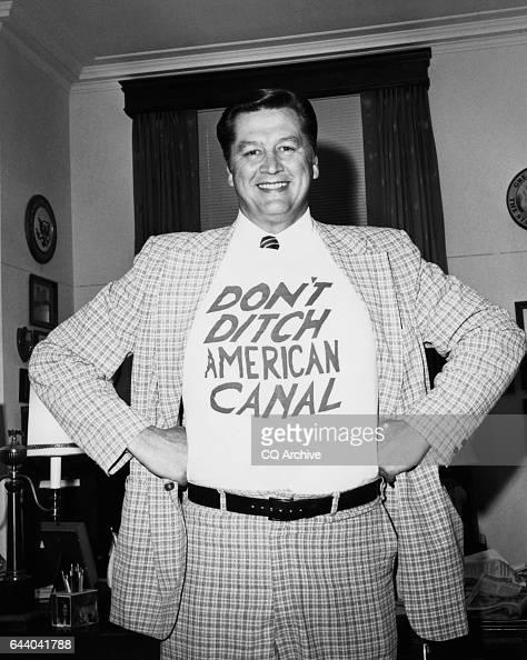 Rep George V Hansen RIdaho wants to keep the Panama Canal 'n