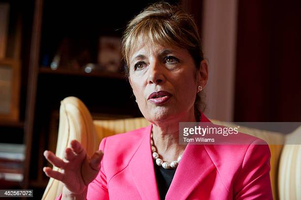 Rep Jackie Speier DCalif is interviewed by Roll Call in her Cannon Building office July 22 2014