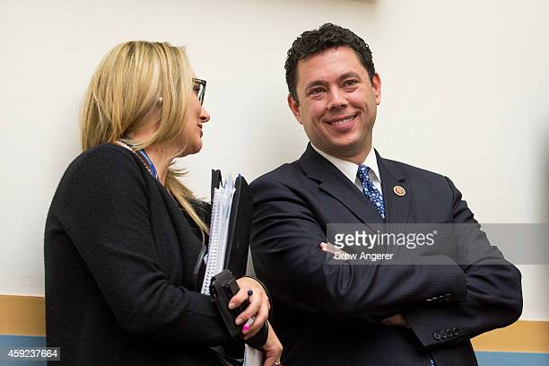 Rep Jason Chaffetz looks on during testimony from Joseph Clancy acting director of the United States Secret Service during a House Judiciary...