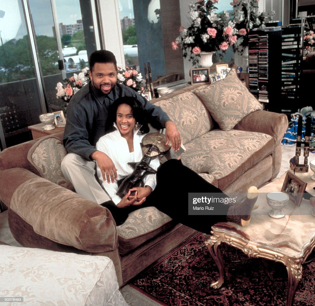 Rep. Jesse Jackson Jr. and wife, Sandi Stevens.
