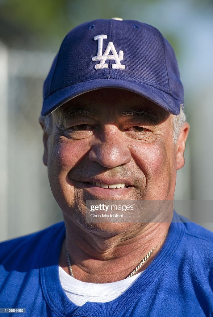 Rep. Joe Baca, D-Calif., during the Democrats' baseball practice at Hamilton Junior High School. The Democrats will face off against the GOP in the 50th Annual Congressional Baseball Game at Nationals Stadium in Washington on July 14, 2011.