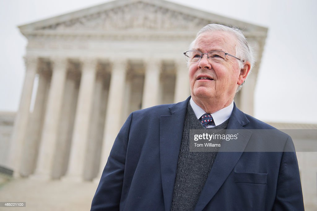 Rep. <a gi-track='captionPersonalityLinkClicked' href=/galleries/search?phrase=Joe+Barton&family=editorial&specificpeople=653902 ng-click='$event.stopPropagation()'>Joe Barton</a>, R-Texas, attends a rally outside of the Supreme Court during arguments in the King v. Burwell case which deals with tax credits in the Affordable Care Act, March 4, 2015.