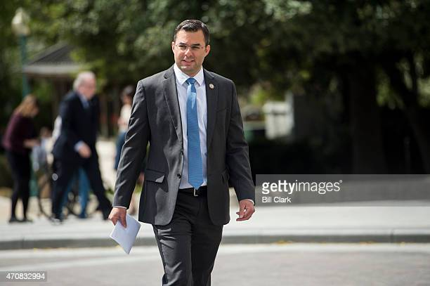 Rep Justin Amash RMich heads to the House floor for votes on Thursday April 23 2015