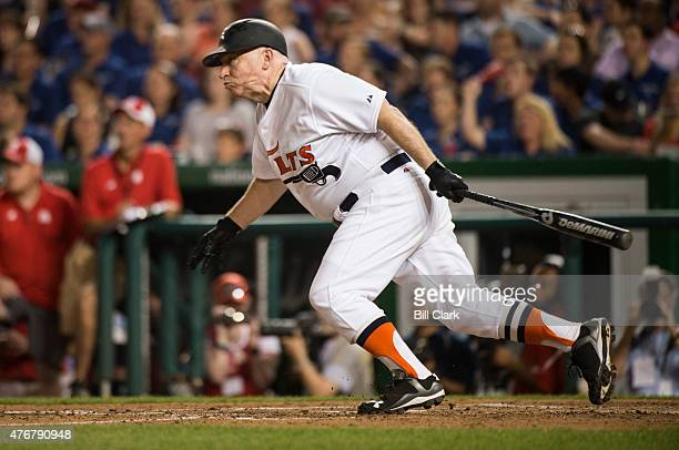 Rep Kevin Brady RTexas bats during the 54th Annual Roll Call Congressional Baseball Game at Nationals Park in Washington on Thursday June 11 2015 The...