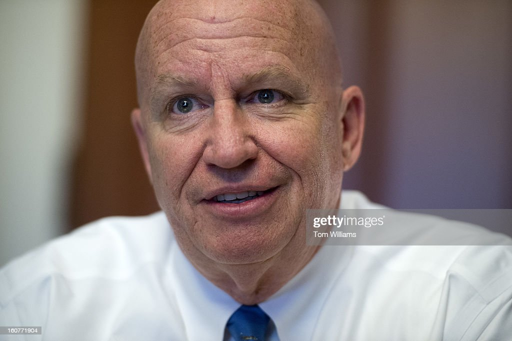 Rep. Kevin Brady, R-Texas, is interviewed in his Cannon Building office.
