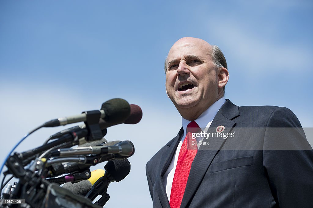 Rep Louie Gohmert RTexas speaks during a news conference at the House Triangle on immigration reform on Tuesday May 14 2013