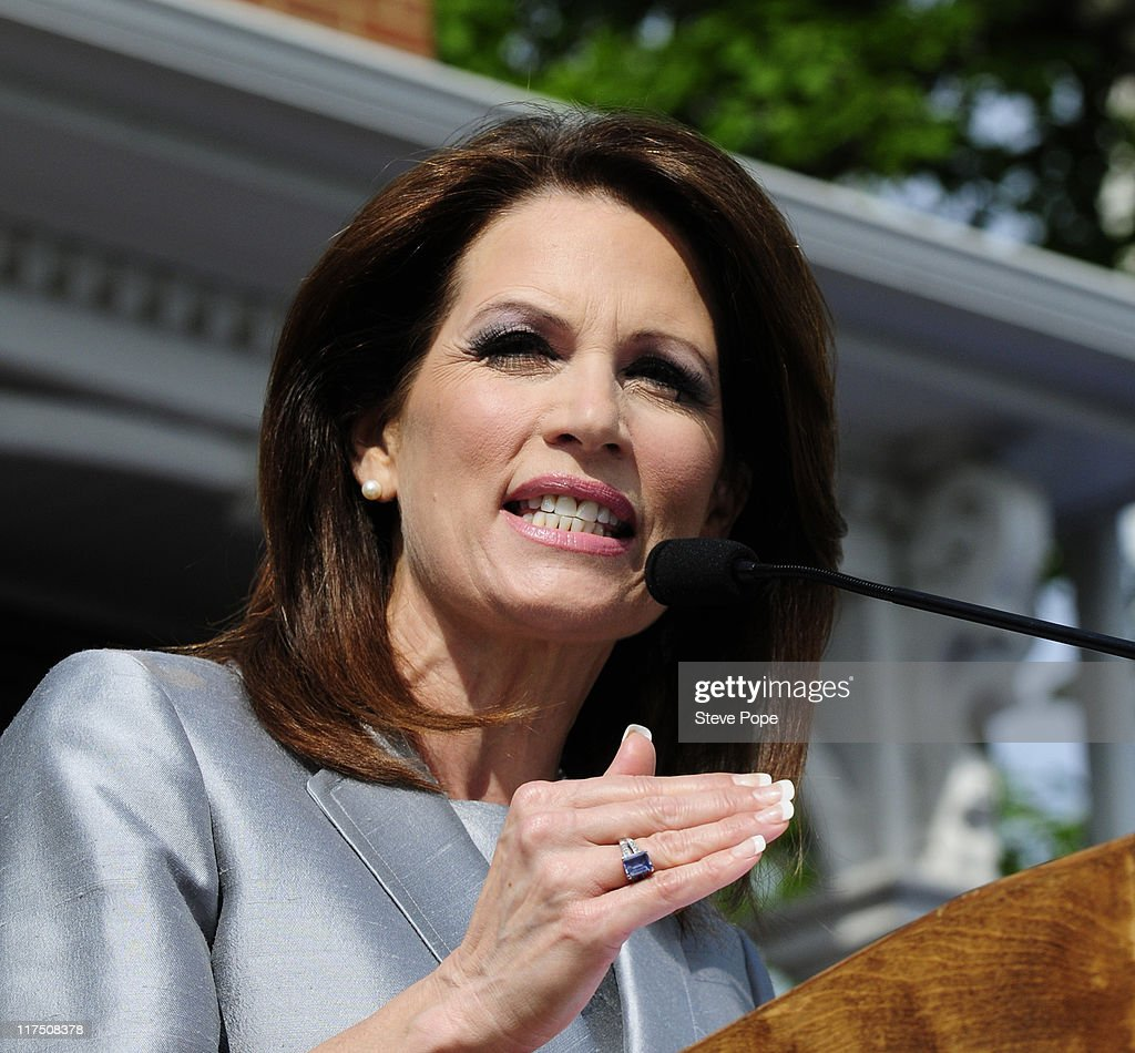 Michelle Bachmann Announces Her Candidacy For President In Iowa