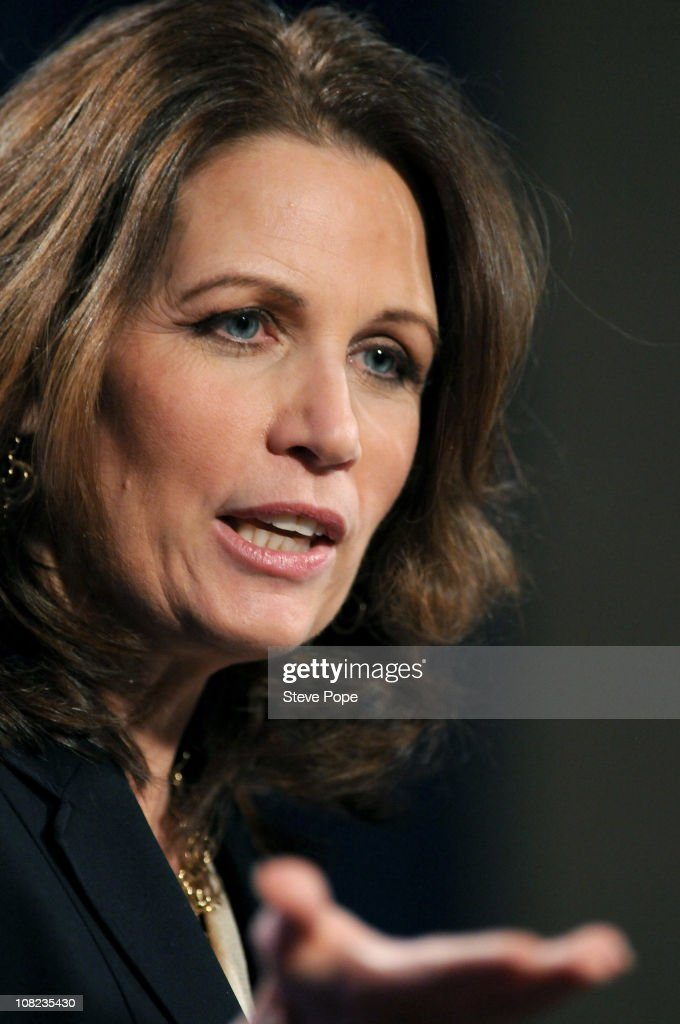 Michelle Bachmann Attends Reception For Iowans For Tax Relief PAC