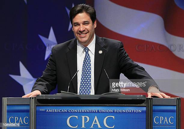 Rep Raul Labrador speaks at the Conservative Political Action conference on February 10 2011 in Washington DC The CPAC annual gathering is a project...