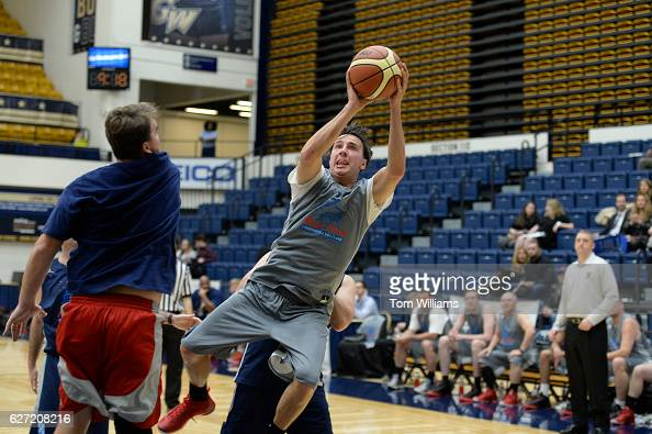 Rep Ryan Costello RPa competes in the 18th Annual Hoops for Youth charity basketball game at George Washington University's Smith Center in which the...