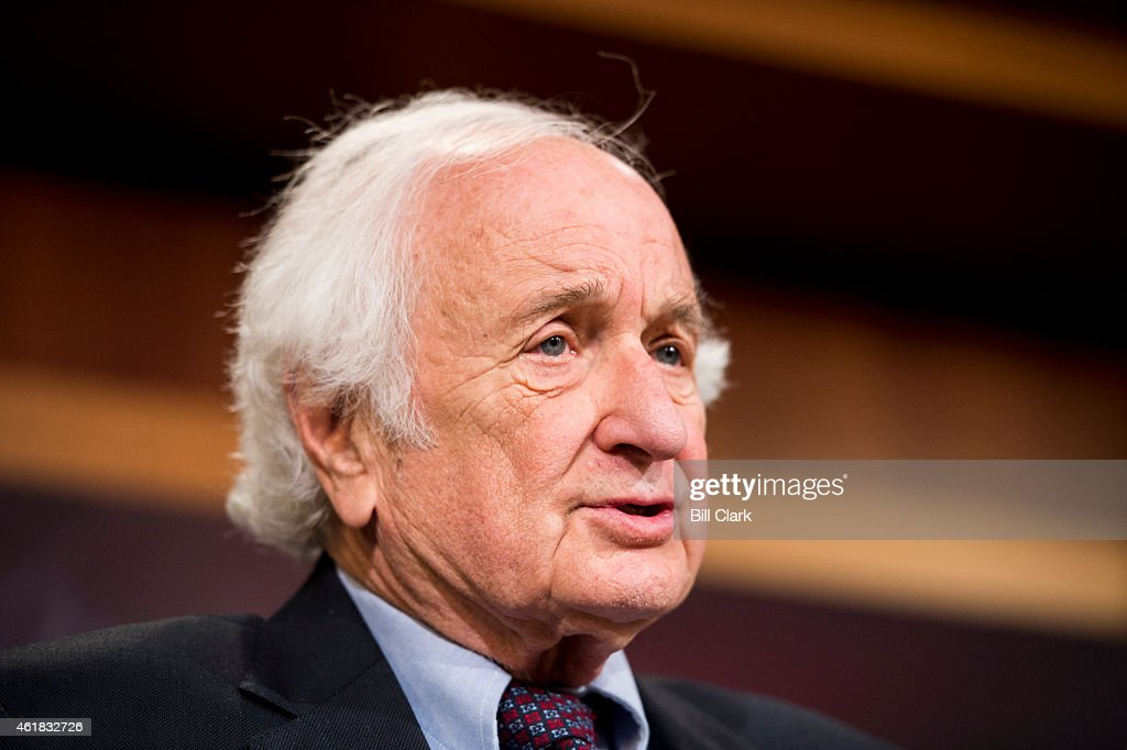 Rep. Sander Levin, D-Mich., speaks during the press conference on Tuesday, Jan. 20, 2015, to announce legislation 'to tighten restrictions on corporate tax inversions.'