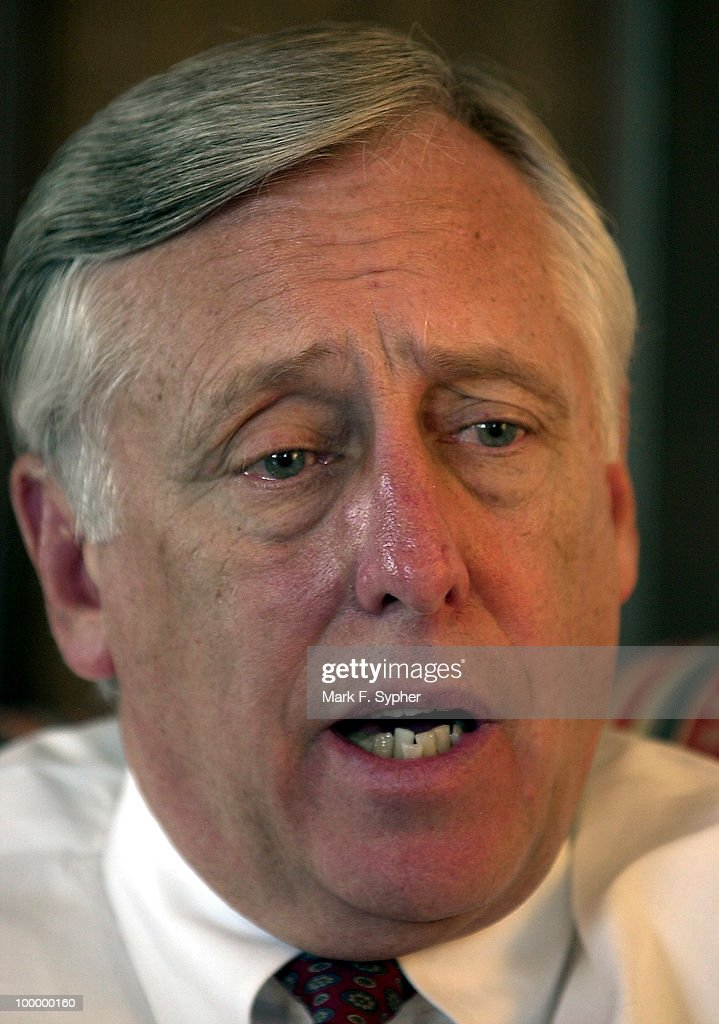 Rep. Steny H. Hoyer (D-MD) during an interview on Wednesday with Roll Call's Ethan Wallison.