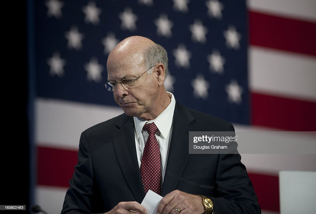 Rep. Steve Pearce, R-NM., during the 2013 Conservative Political Action Conference at the Gaylord National Resort & Conference Center at National Harbor, Md., on Saturday, March 16, 2013.