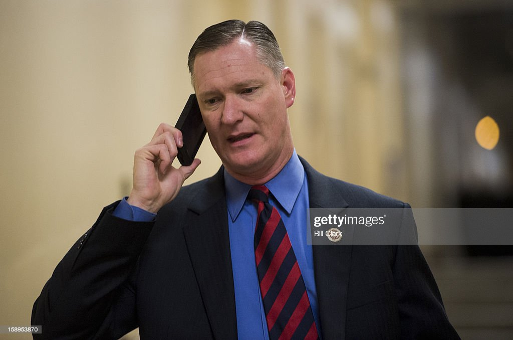 Rep. Steve Stivers, R-Ohio, leaves the House Republican Conference meeting on Friday, Jan. 4, 2013.