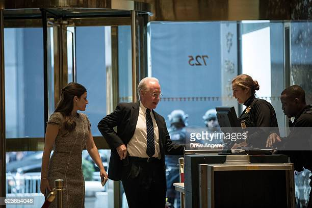 Rep Tom Price arrives at Trump Tower November 16 2016 in New York City Presidentelect Donald Trump and his transition team are in the process of...
