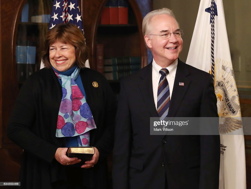 Tom Price Sworn In As Secretary Of Health And Human Services Department