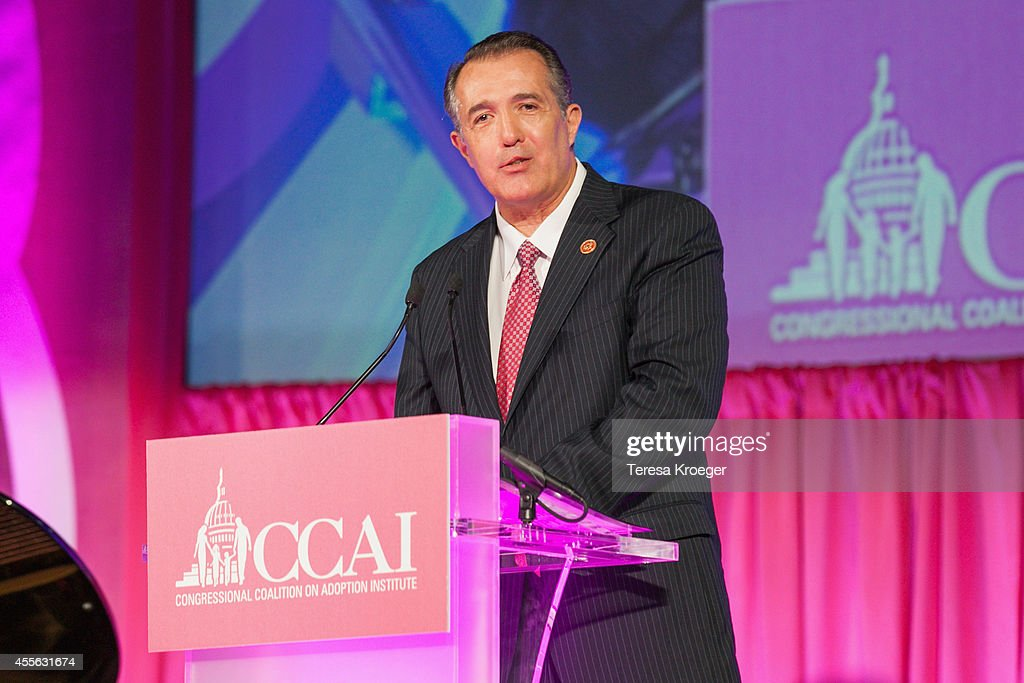U.S. Rep. <a gi-track='captionPersonalityLinkClicked' href=/galleries/search?phrase=Trent+Franks&family=editorial&specificpeople=703239 ng-click='$event.stopPropagation()'>Trent Franks</a> (R-AZ) attends the 2014 Angels In Adoption Gala at the Ronald Reagan Building and International Trade Center on September 17, 2014 in Washington, DC.