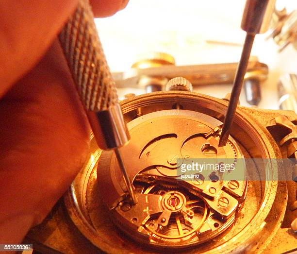 Repairing a clock