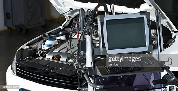 Repairing Car with computer