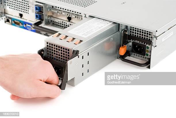 Reparar servidor de red