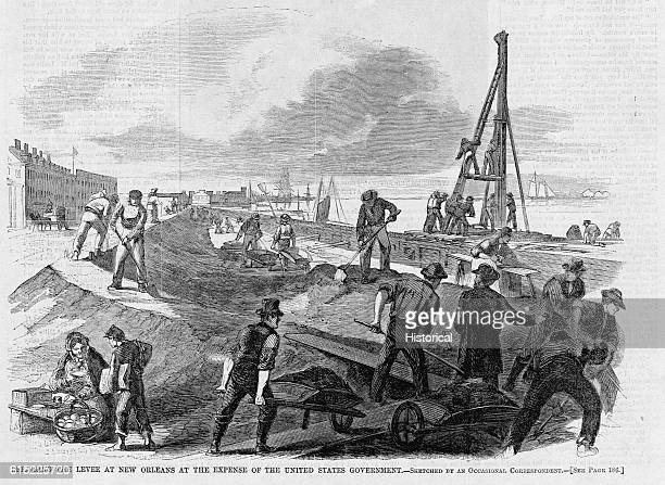 Repairing the Levee at New Orleans at the Expense of the United States Government