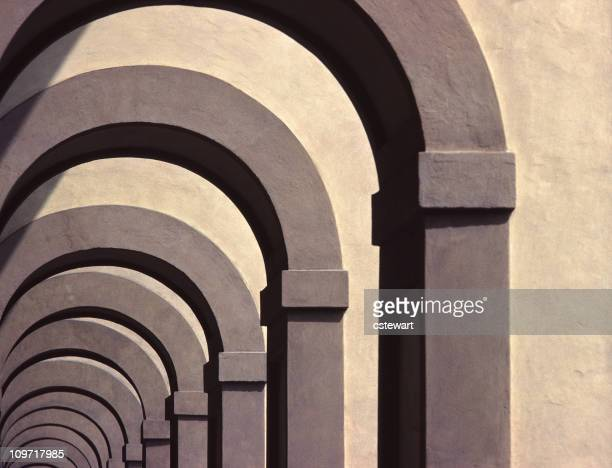 Repeating Archways, Italy