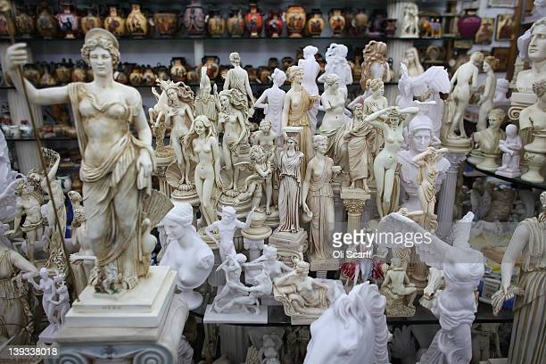 Greek Souvenirs Stock Photos And Pictures Getty Images