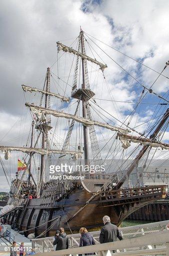 Replica of a 16th Centyry Spanish Sailing ship