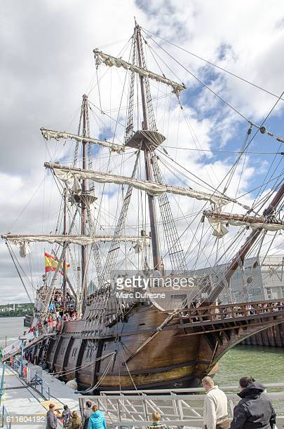 Replica of a 16th Centyry Spanish Sailing ship