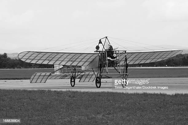 Replica of the Wright Flyer, Hradec Kralove Air Base, Czech Republic.