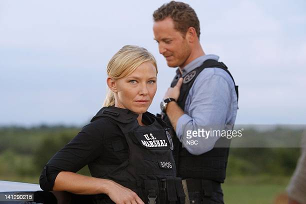 CHASE 'Repo' Episode 103 Pictured Kelli Giddish as Annie Frost Cole Hauser as Jimmy Godfrey Photo by Vivian Zink/NBC/NBCU Photo Bank