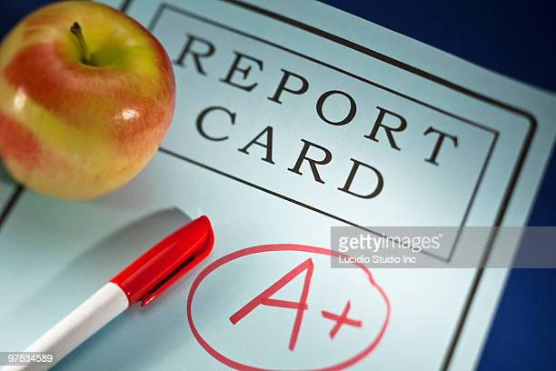 A+ Report Card and Apple