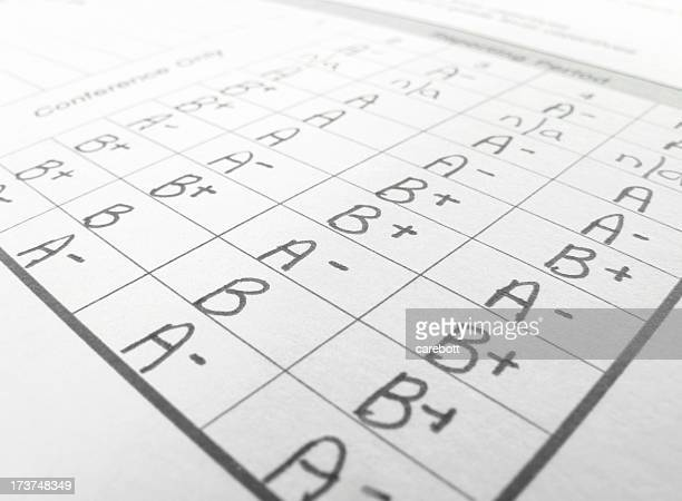 Report Card Stock Photos And Pictures  Getty Images