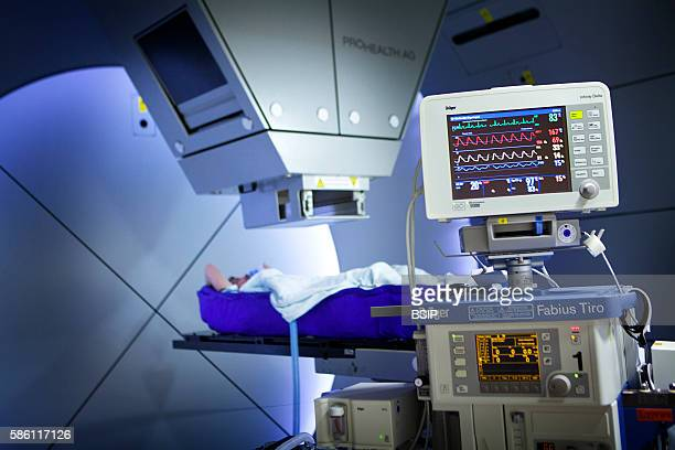 Reportage at the Rinecker Proton Therapy Center in Munich Germany The center has the latest equipment for proton therapy treatment Proton therapy...