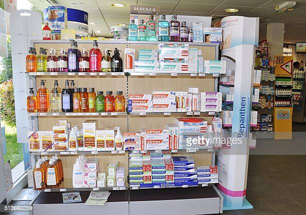 Reportage in a chemist's in FontenaysousBois France