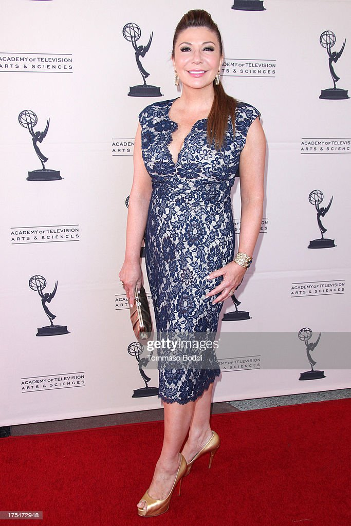 Reporter Ana Garcia attends the Academy Of Television Arts & Sciences 65th Los Angeles Area EMMY Awards held at the Leonard H. Goldenson Theatre on August 3, 2013 in North Hollywood, California.