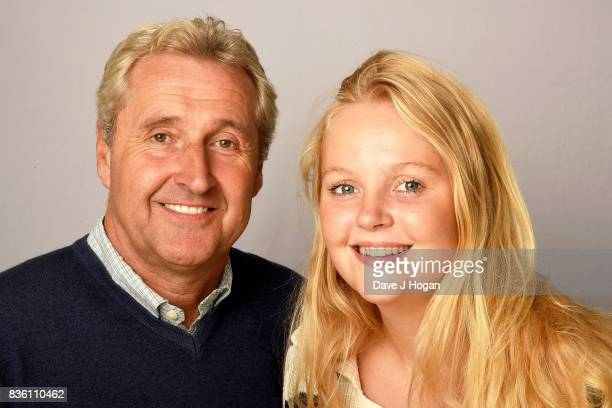 Reporter and news presenter Mark Austin with his daughter Maddy photographed for the Channel 4 programme 'Wasting Away The Truth about Anorexia' to...