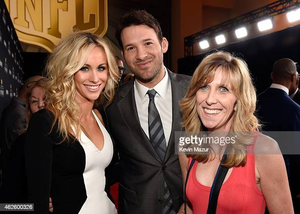 Reporter Candice Crawford NFL player Tony Romo and guest attend 4th Annual NFL Honors at Phoenix Convention Center on January 31 2015 in Phoenix...